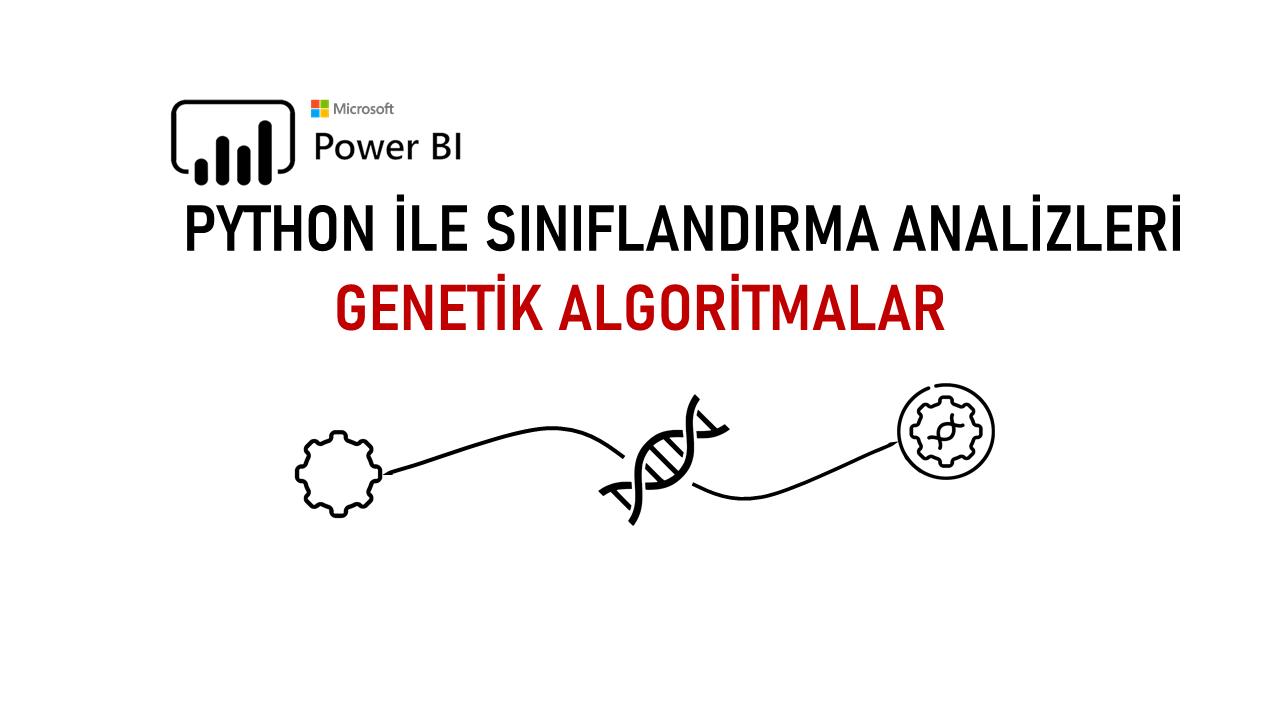 microsoft power bi python genetic algorithm